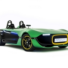 Caterham says that the AeroSeven indicates the shape of its version of the car