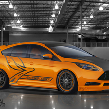 Bojix Design created an orange ST inspired by European hot hatches with a luxury look