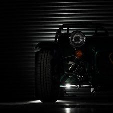 It will be the lightest Caterham ever