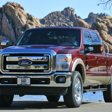 Ford F-Series Super Duty F-250 142-in. WB Lariat Styleside SuperCab 4x2