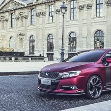 The DS 5LS R concept shows more possibilities of the DS 5LS model, recently launched in China