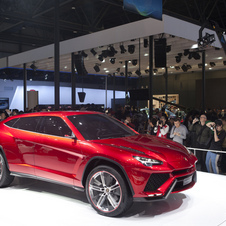 The Urus Concept was on display at the Beijing Motor Show