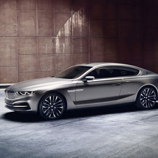 BMW showed the Pininfarina Grand Lusso Coupe at the Villa d'Este Concours d'Elegance