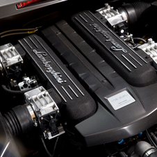 The engine was the same 6.5l V12 from the Murcielago but tuned to 650hp