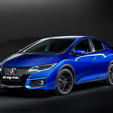 The Civic Sport is based on the 5-door Civic