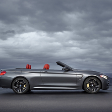 The M4 Convertible is equipped with the 3.0 six-cylinder twin-turbo engine with 430hp and 550Nm torque