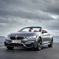 With the manual transmission the M4 Cabrio reaches 100km/h in 4.6s, 0.2s more than with the DCT