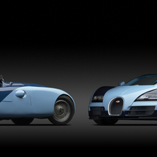 The Veyron is meant to harken back to the original car
