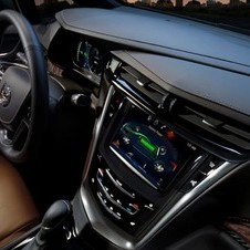 Cadillac's CUE system is also standard on the car