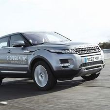 Land Rover calls the nine-speed Evoque a concept, but it is clear that it will come eventually