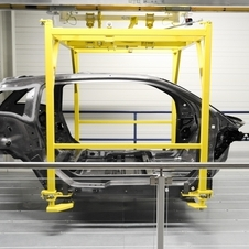 The carbon fiber is produced in Washington state and shipped to BMW