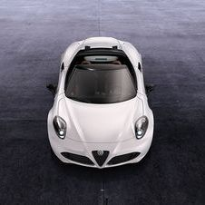 Alfa Romeo claims that it managed to limit weight increase to 60kg in the Spider version
