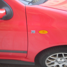 My Fiat Punto, in Ferrari red...