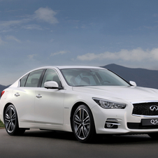 The Q50 will be on sale later in the summer in the US and in the fall in Europe