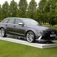 It is the first RS6 Avant to be imported into the UK