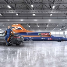 Jaguar announced a new partnership with Bloodhound SCC