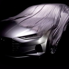 It's still impossible to understand much about the design of the new Audi concept