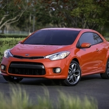 The Forte Koup is being introduced in New York with a 1.6-liter turbo engine