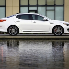 The Optima gets some style upgrades