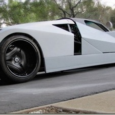 Concept Ford GT90 in garage