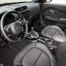 The Soul interior has a circular motif