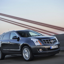 The new crossover would fit between the SRX and Escalade