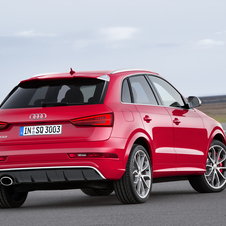 The new RS Q3 can now accelerate from 0 to 100km/h in 4.8 seconds and to an electronically limited top speed of 250km/h