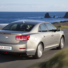 The 2.0-liter diesel is coming to the Malibu