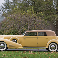 Cadillac V16 Imperial Convertible Sedan