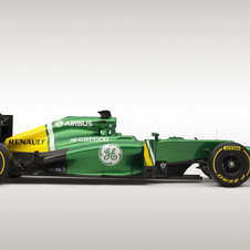 Caterham is aiming for a better performance this season