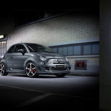 The Fiat Abarth 595 Competizione gets upgraded dampers, xenon headlights and cross-drilled brakes