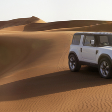 Safety laws make a car like the current Defender impossible