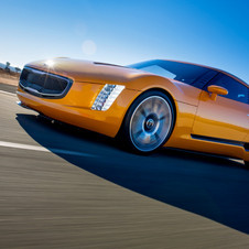 It uses Kia's 2.0-liter four-cylinder turbocharged direct injected engine with 315hp