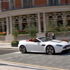 Roadster torna-se na versão mais potente do V12 Vantage