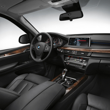 The interior has not changed much and remains almost identical to a standard X5