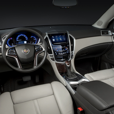 2013 Cadillac SRX Getting CUE Touch Screen and New Grills