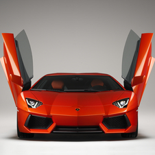The Aventador hit the 2,000 unit mark twice as fast as the Murcielago