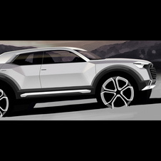 The Audi Q1 is under development and due in 2016