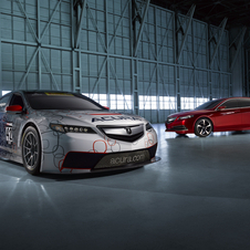 Acura will also have a racing version debut in the second half of the year