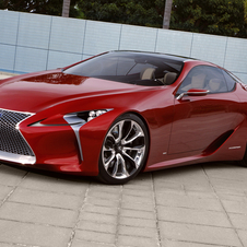 The car was meant for Lexus designers to work on a car without boundaries