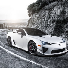 Lexus says the LFA also provided inspiration