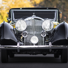 Bentley 3½-Litre Sedanca Coupe by Windovers