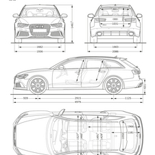 The RS6s dimensions