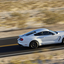The new Shelby GT350 should be officially unveiled in January at the Detroit Motor Show (NAIAS)