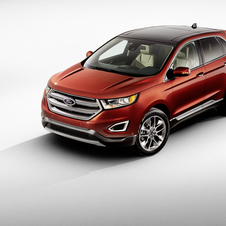In visual terms the new Edge features an exterior design in line with other Ford models, with a prominent chrome grille