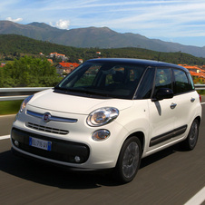The Fiat 500X is supposed to be based on the upcoming 500L