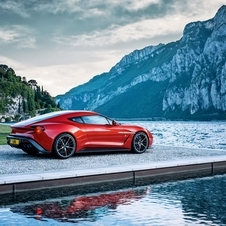 It can take the Vanquish Zagato up to 100km/h in 3.5 seconds