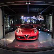 L'Alfa Romeo 4C a gagnée le Prix '' Design Award for Concept Cars & Prototypes