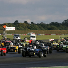 Caterham is very successful in one-make racing