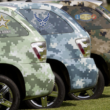 US Military Evaluating GM Fuel Cell Vehicles for Purchase